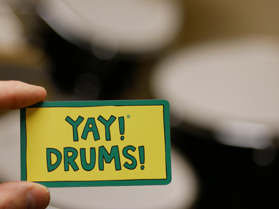 YAY! DRUMS! magnet