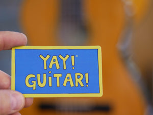 YAY! GUITAR! magnet