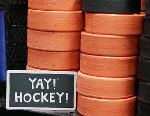 YAY! HOCKEY! magnet