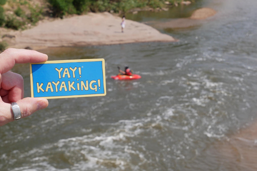 YAY! KAYAKING! Magnet