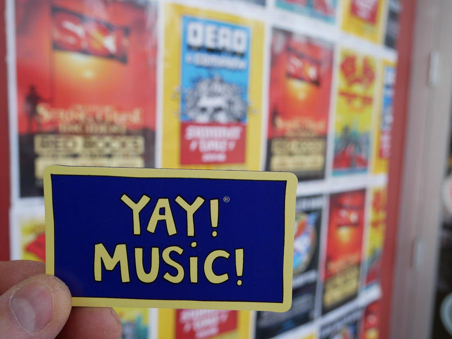 YAY! MUSIC! Magnet