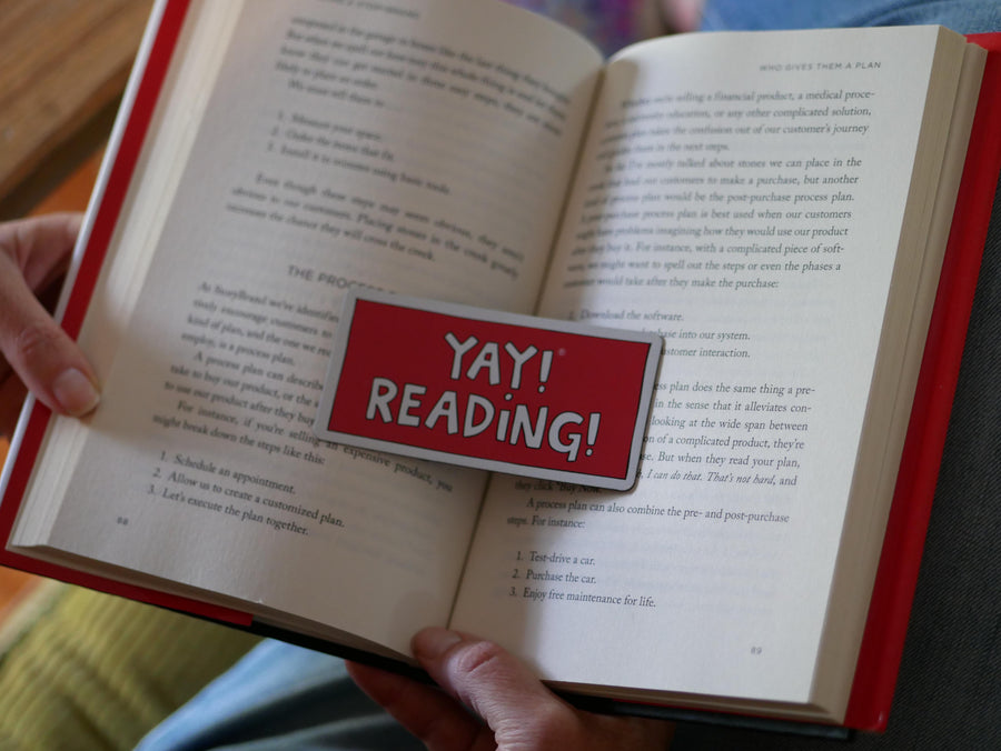 YAY! READING! magnet