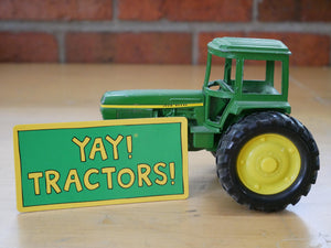YAY! TRACTORS! Magnet