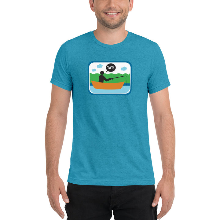 Unisex Picto Fishing Short sleeve t-shirt