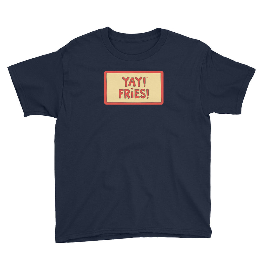 YAY! FRIES! Youth Short Sleeve T-Shirt