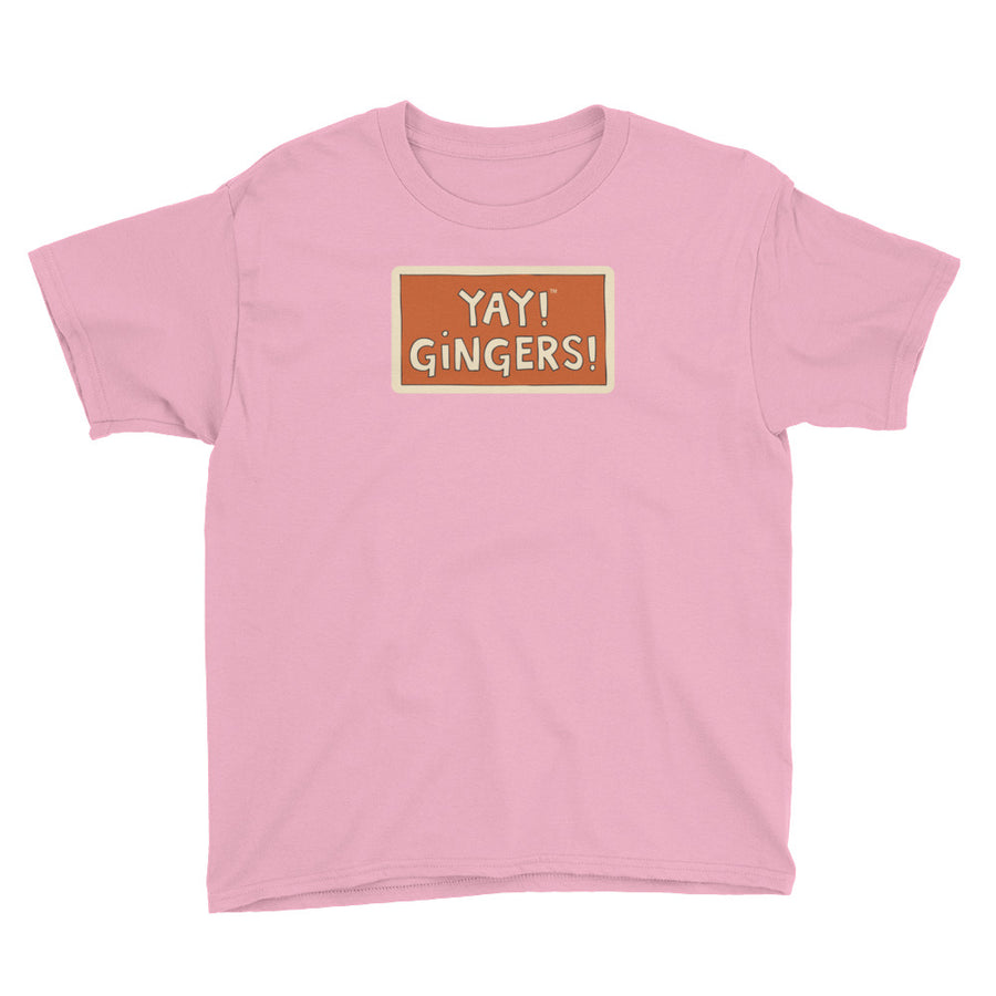 YAY! GINGERS! Youth Short Sleeve T-Shirt