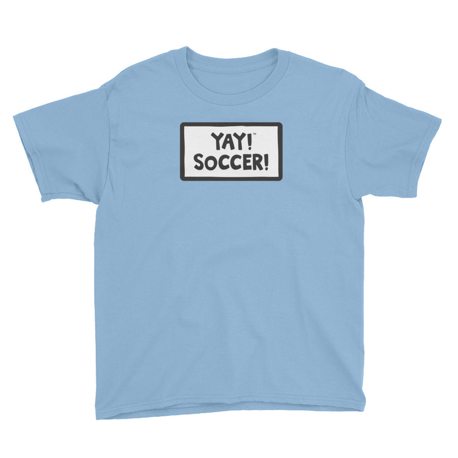 YAY! SOCCER! Youth Short Sleeve T-Shirt