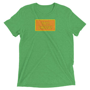 UNISEX YAY! CHEESE! Short sleeve t-shirt