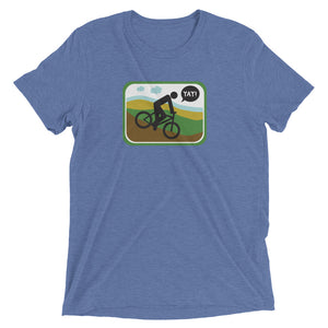 UNISEX PICTO BIKING Short sleeve t-shirt YAY T-SHIRTS