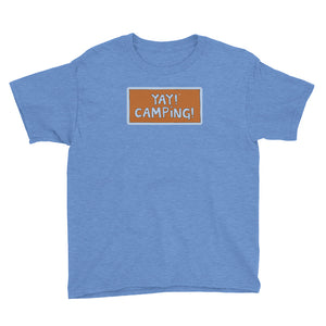 YAY! CAMPING! Youth Short Sleeve T-Shirt