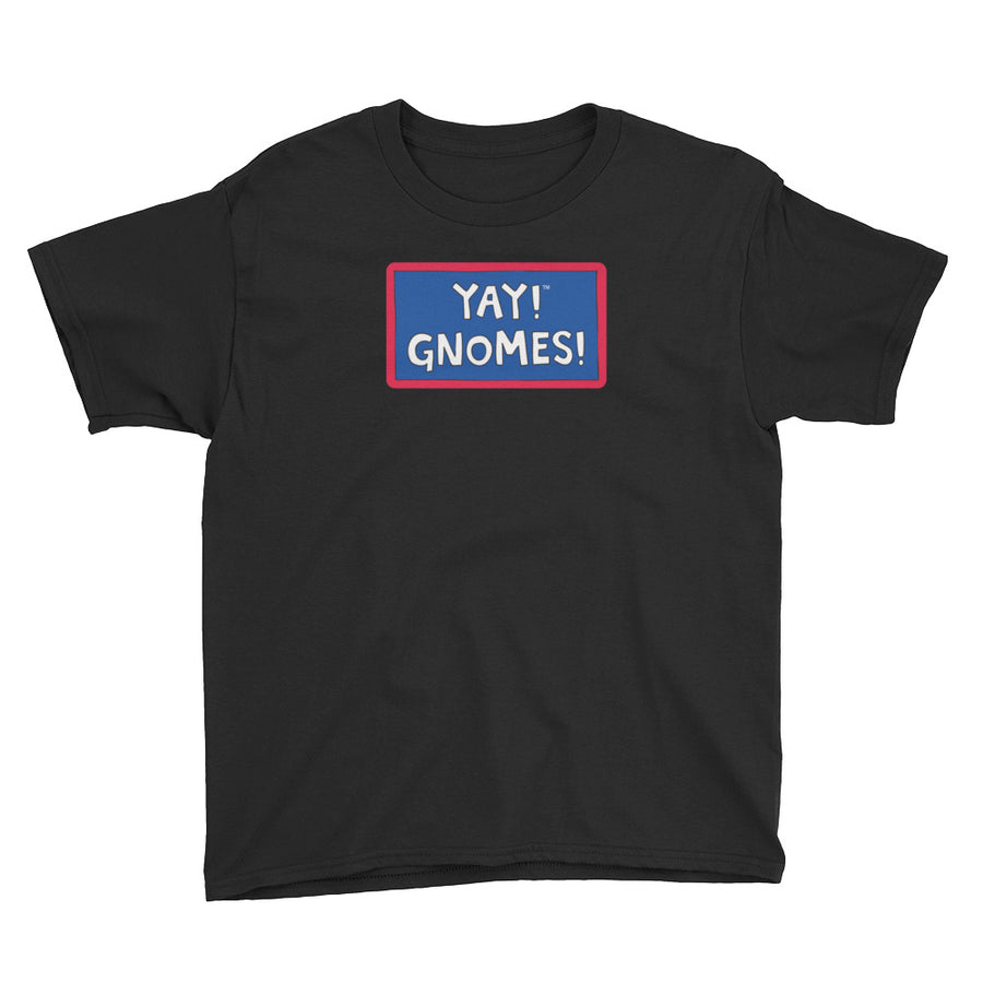 YAY! GNOMES! Youth Short Sleeve T-Shirt