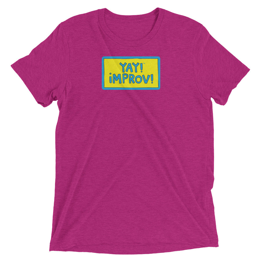 YAY! IMPROV! UNISEX Short sleeve t-shirt