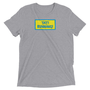 YAY! RUNNING! Unisex short sleeve t-shirt