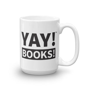 YAY! BOOKS! Mug
