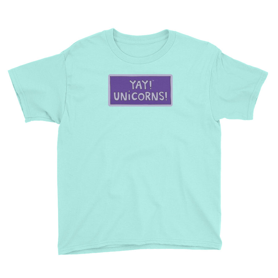 YAY! UNICORNS! Youth Short Sleeve T-Shirt