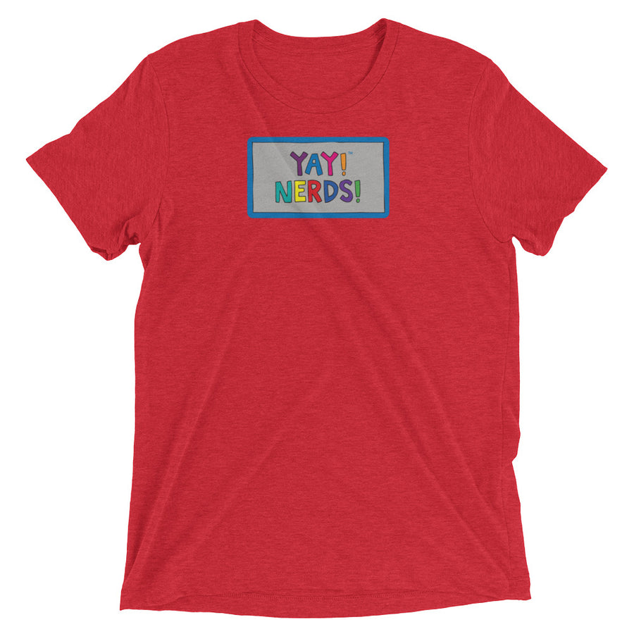YAY! NERDS! Unisex Short sleeve t-shirt