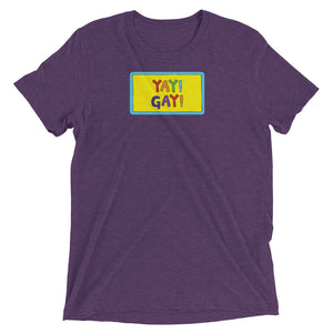 YAY! GAY! Unisex short sleeve t-shirt
