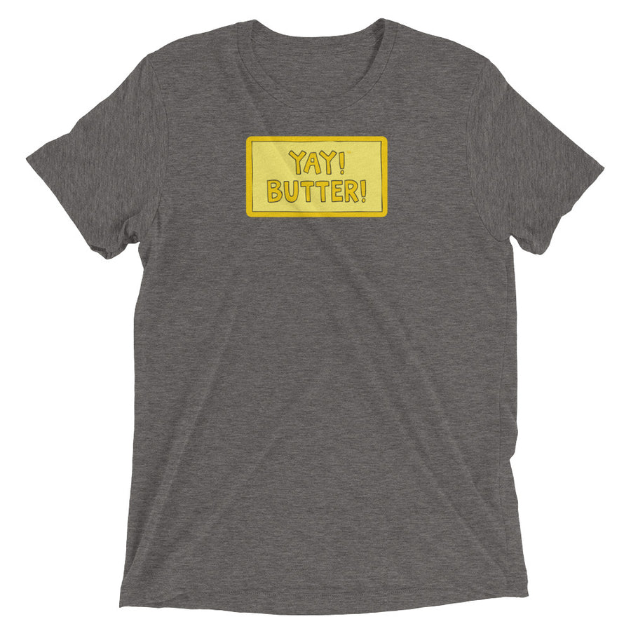 UNISEX YAY! BUTTER! Short sleeve t-shirt