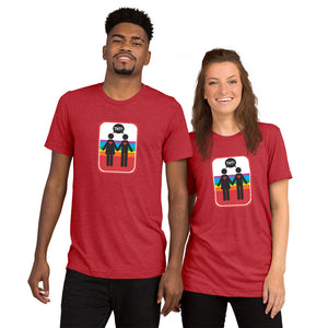 UNISEX PICTO PRIDE M+F Short sleeve t-shirt YAY T-SHIRTS