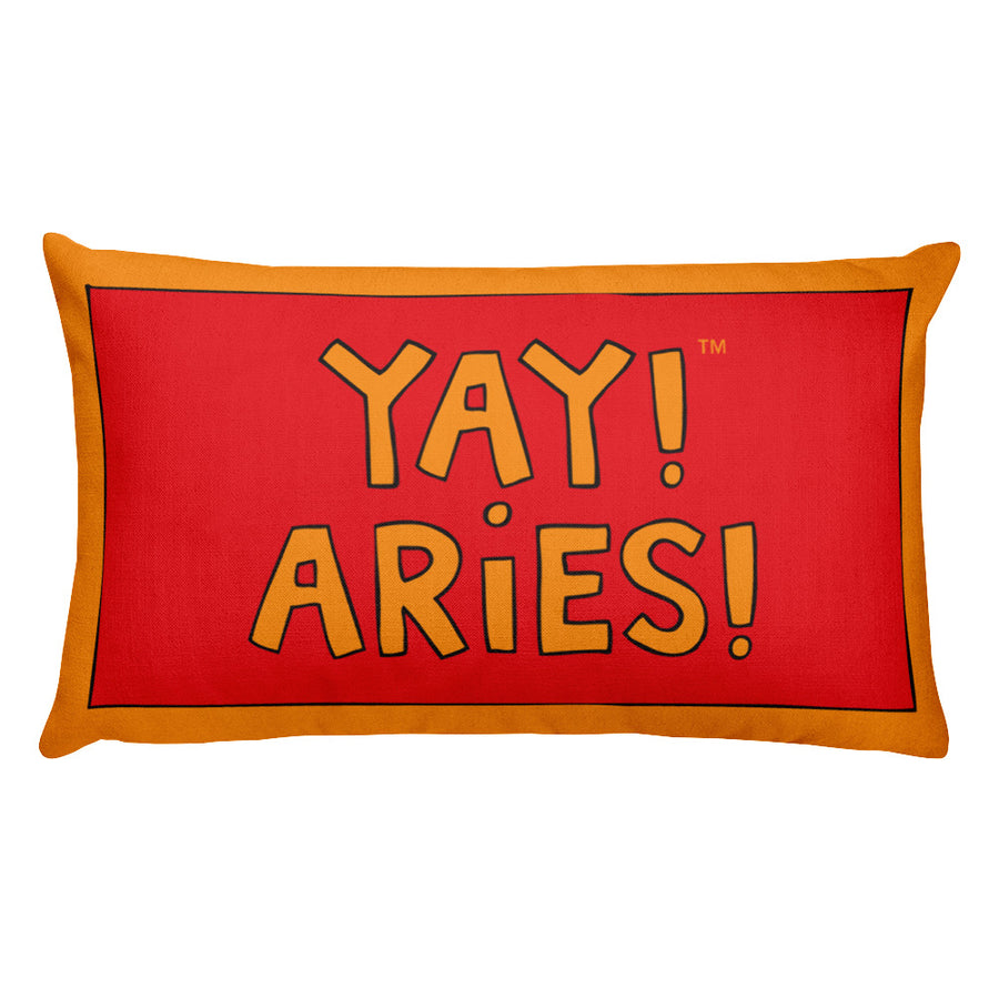 YAY! ARiES! Rectangular Pillow