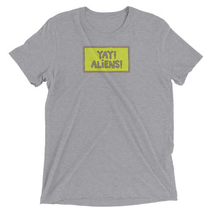 YAY! ALIENS! Unisex short sleeve t-shirt