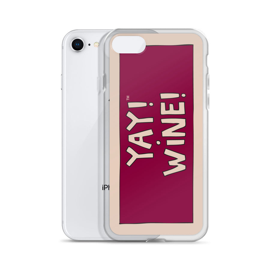 YAY! WiNE! iPhone Case