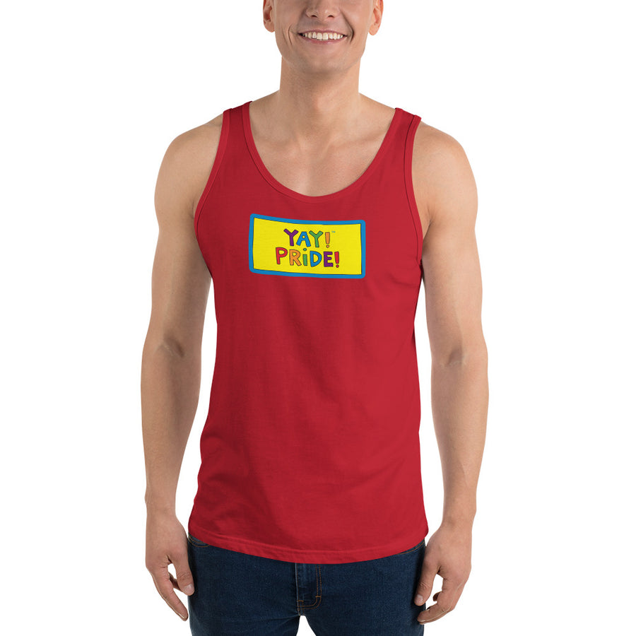 UNISEX YAY! PRIDE! Tank Top