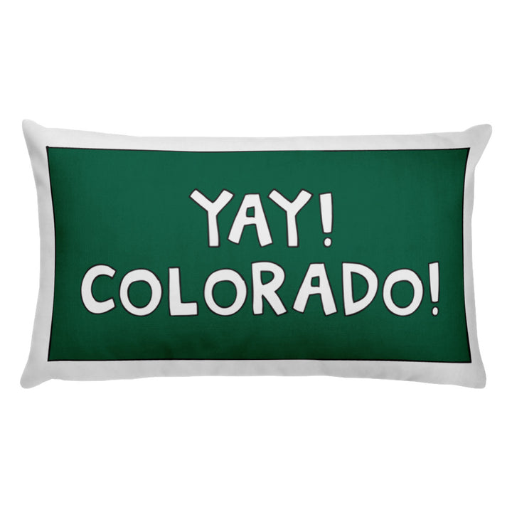YAY! COLORADO! Pillow