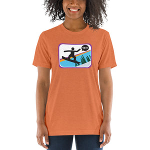 UNISEX PICTO BOARDING Short sleeve t-shirt YAY T-SHIRTS