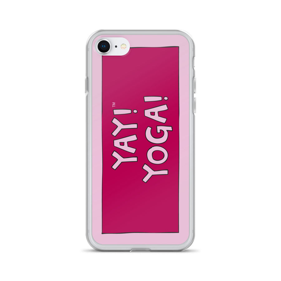 YAY! YOGA! iPhone Case