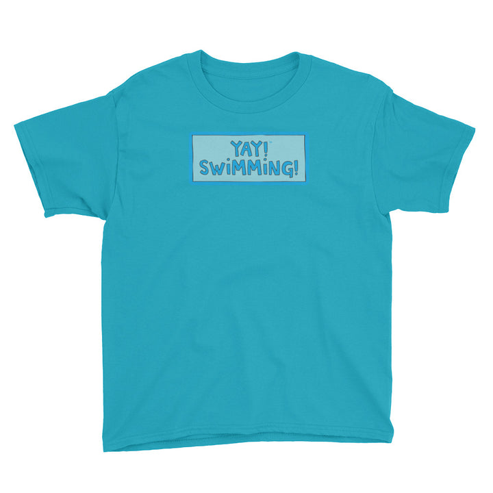 YAY! SWIMMING! Youth Short Sleeve T-Shirt