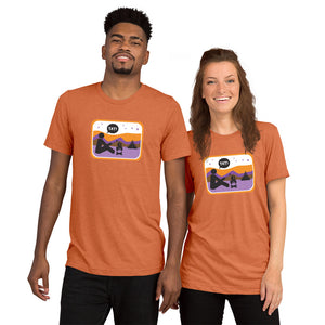 UNISEX PICTO CAMPING Short sleeve t-shirt YAY T-SHIRTS