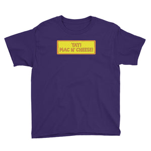 YAY! MAC N' CHEESE! Youth Short Sleeve T-Shirt