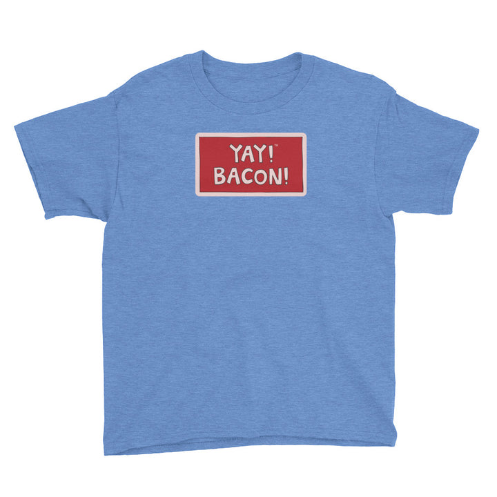 YAY! BACON! Youth Short Sleeve T-Shirt