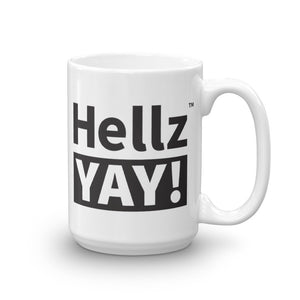 Hellz YAY! Mug in black