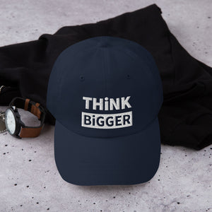 THINK BIGGER LOW PROFILE TWILL CAP