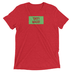 YAY! NICE! Unisex short sleeve t-shirt