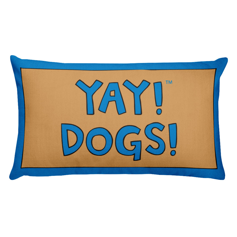 YAY! DOGS! Rectangular Pillow