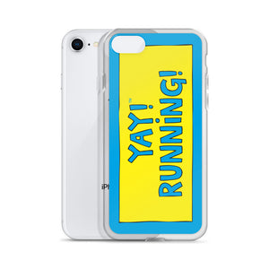 YAY! RUNNiNG! iPhone Case