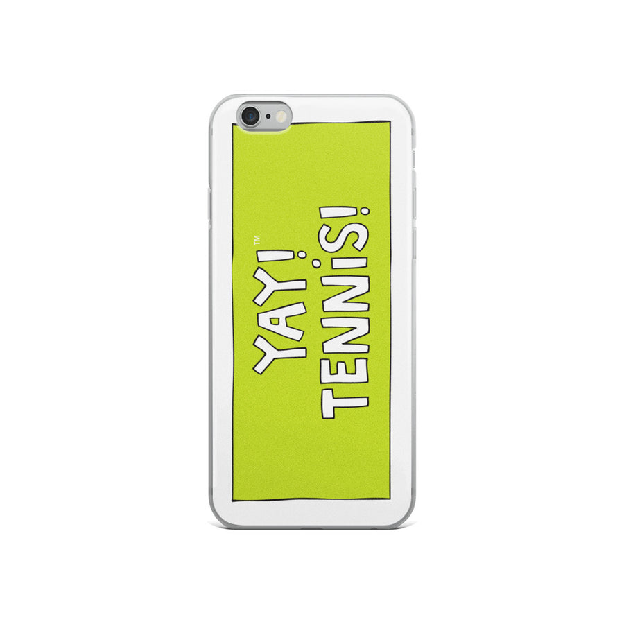 YAY! TENNiS! iPhone Case