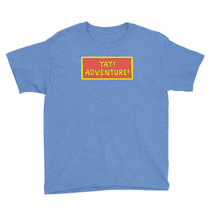 YAY! ADVENTURE! Youth Short Sleeve T-Shirt