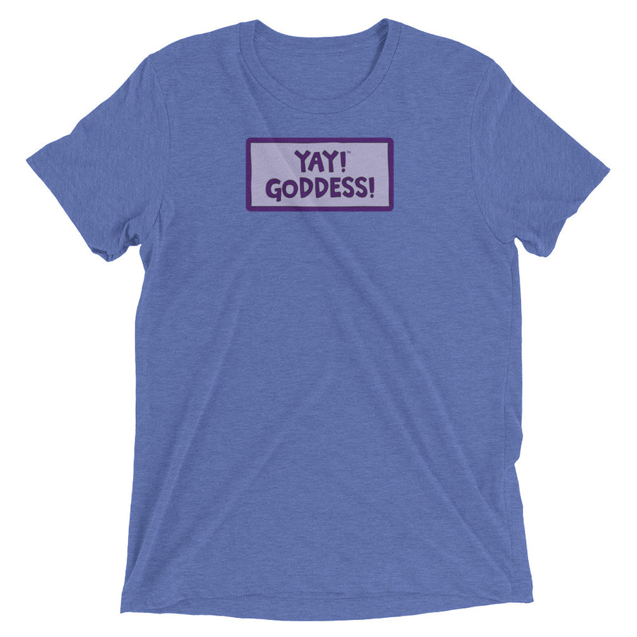 YAY! GODDESS! Unisex short sleeve t-shirt