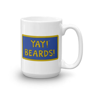 YAY! BEARDS! Mug