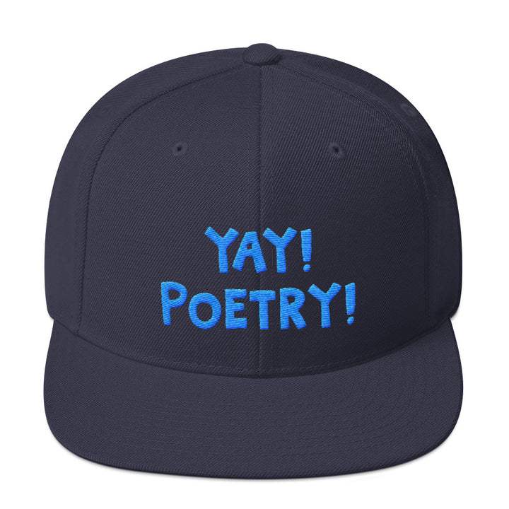 YAY! POETRY! Snapback Hat