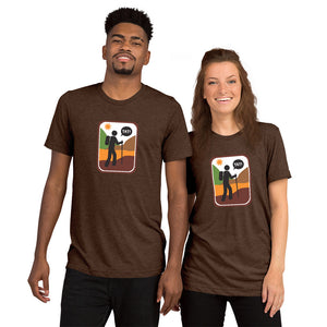 UNISEX PICTO HIKING Short sleeve t-shirt YAY T-SHIRTS