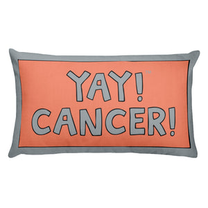YAY! CANCER! Rectangular Pillow (ZODIAC)