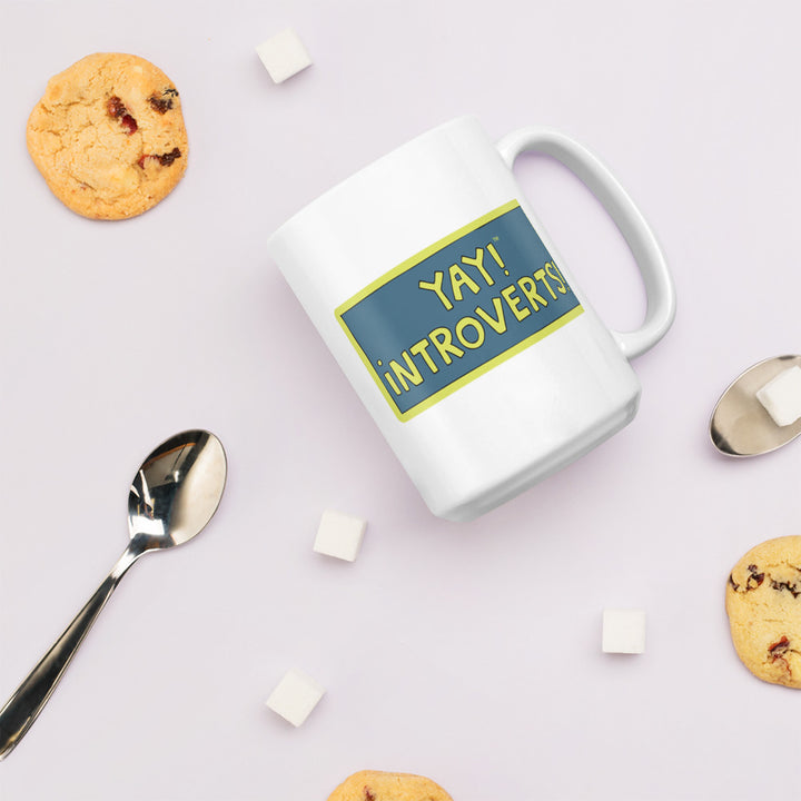 YAY! INTROVERTS! Mug