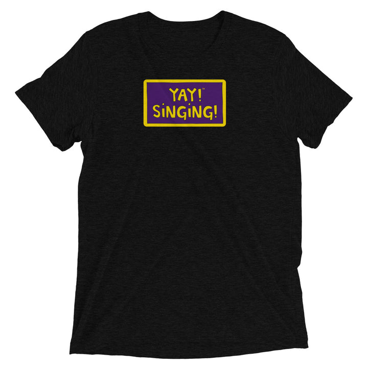 YAY! SINGING! Short sleeve t-shirt