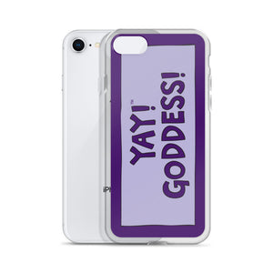 YAY! GODDESS! iPhone Case