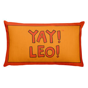 YAY! LEO! Rectangular Pillow